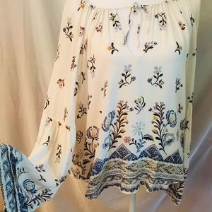 Kimchi Blue floral print top